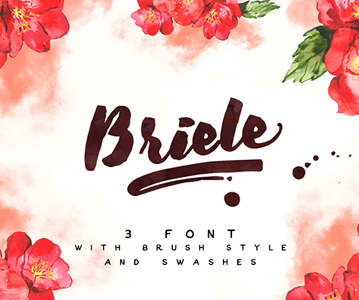 Free Briele Brush Font For Designers