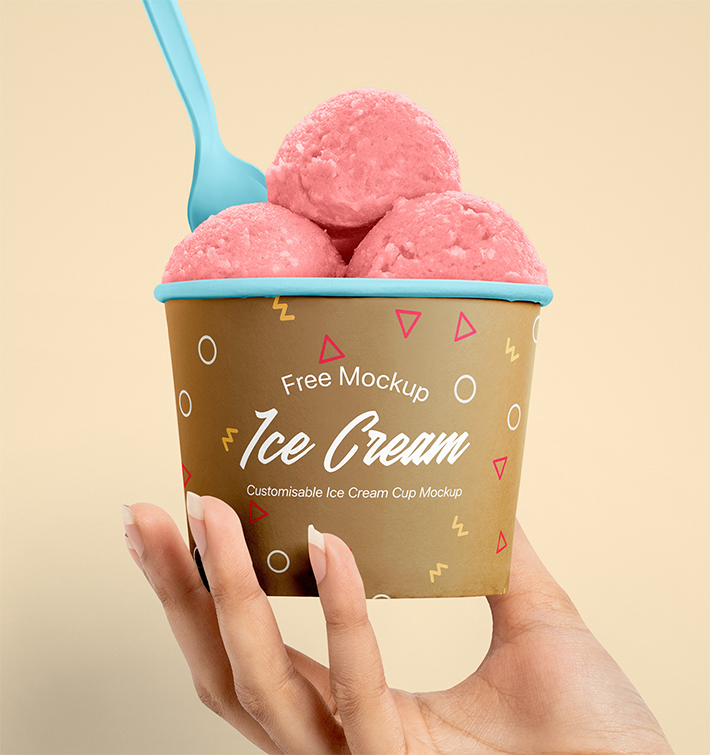 Summer Ice Cream Cup