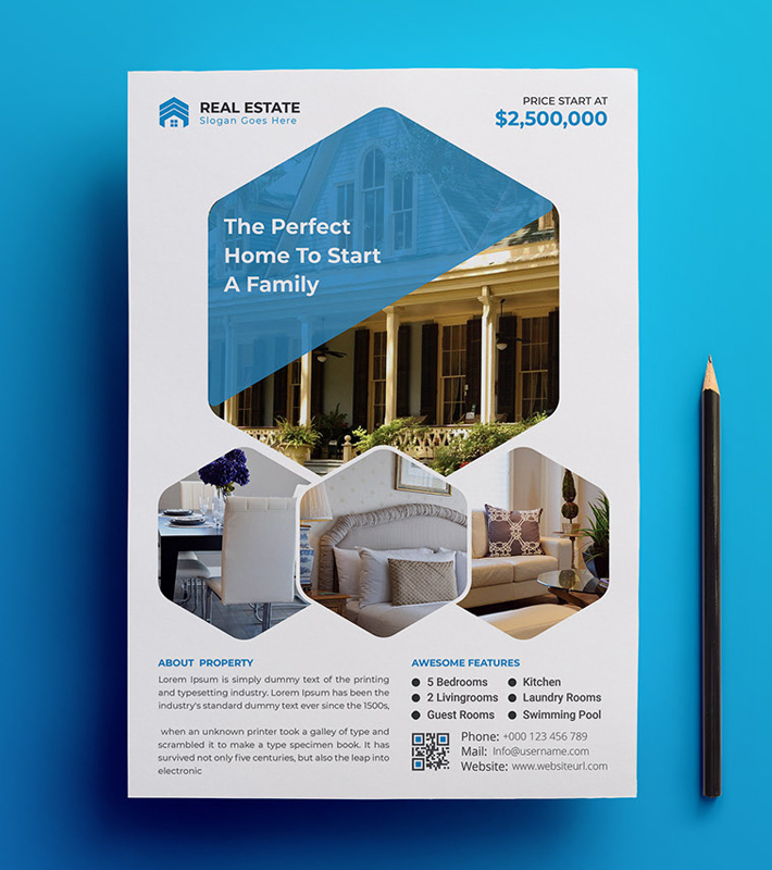 Real Estate Business flyer