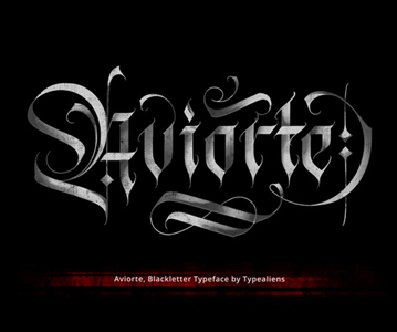 Free Elegant Blackletter Font For Designers
