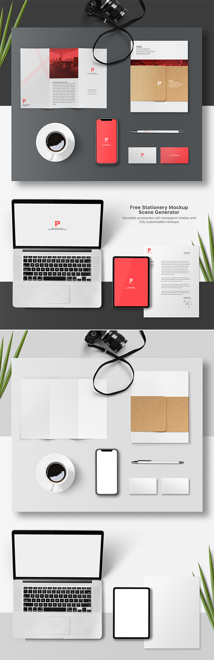 Awesome Branding Stationery Mockup