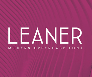 Free Modern Leaner Thin Font For Headlines