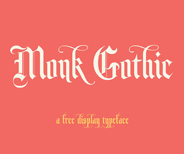 Perfect Monk Gothic Display Font Free Download