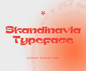 Free Perfect Skandinavia Display Font For Designers