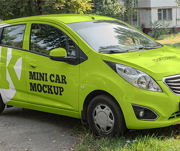 Freebie ; Awesome Car Mockups For Advertisement