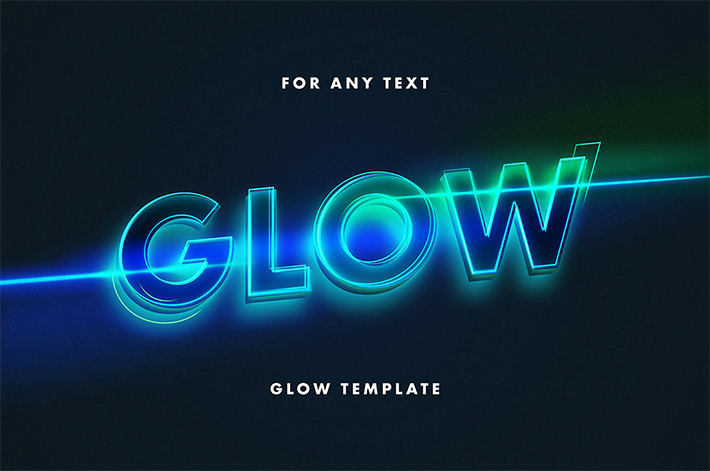 Awesome Glowing Text Effect