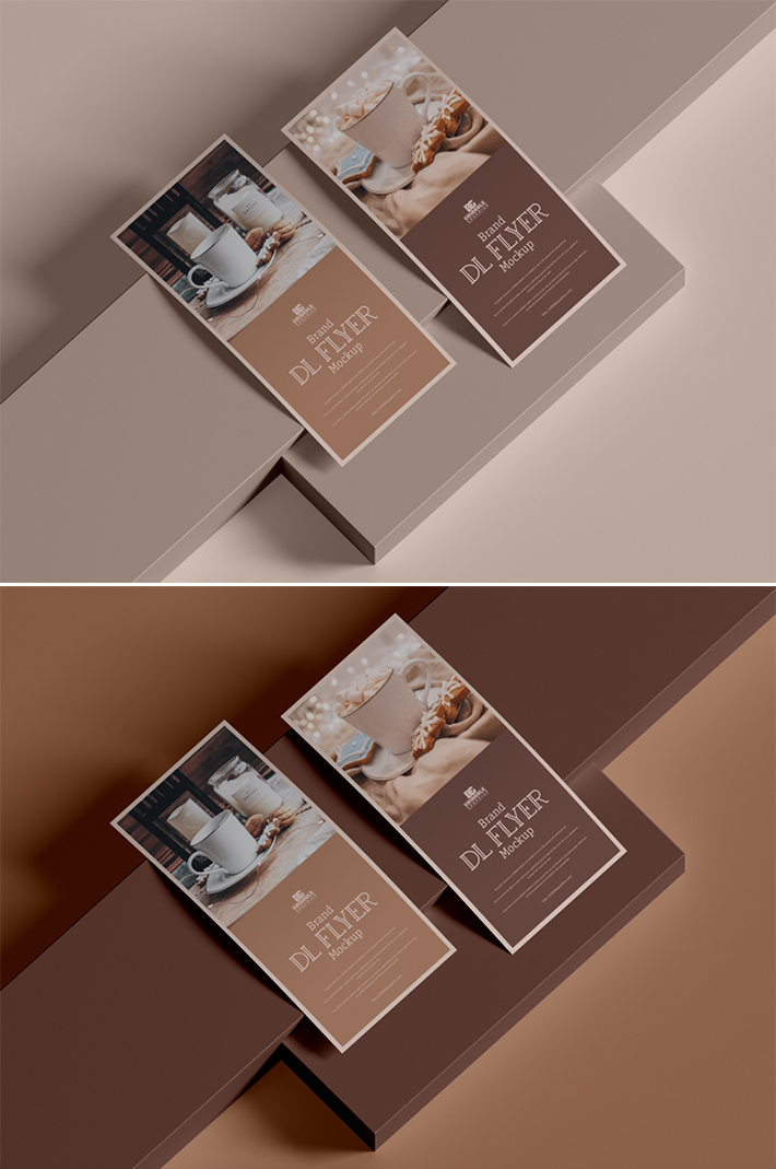 Creative Attractive Brand Flyer Mockup