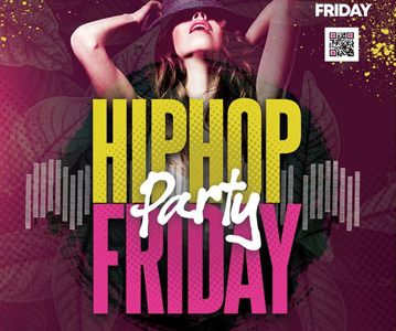 Free Attractive Stylish Friday Party Flyer Template (2021)