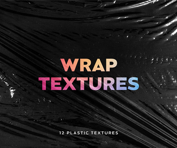 Free 12 Awesome Plastic Wrap Textures For Designers