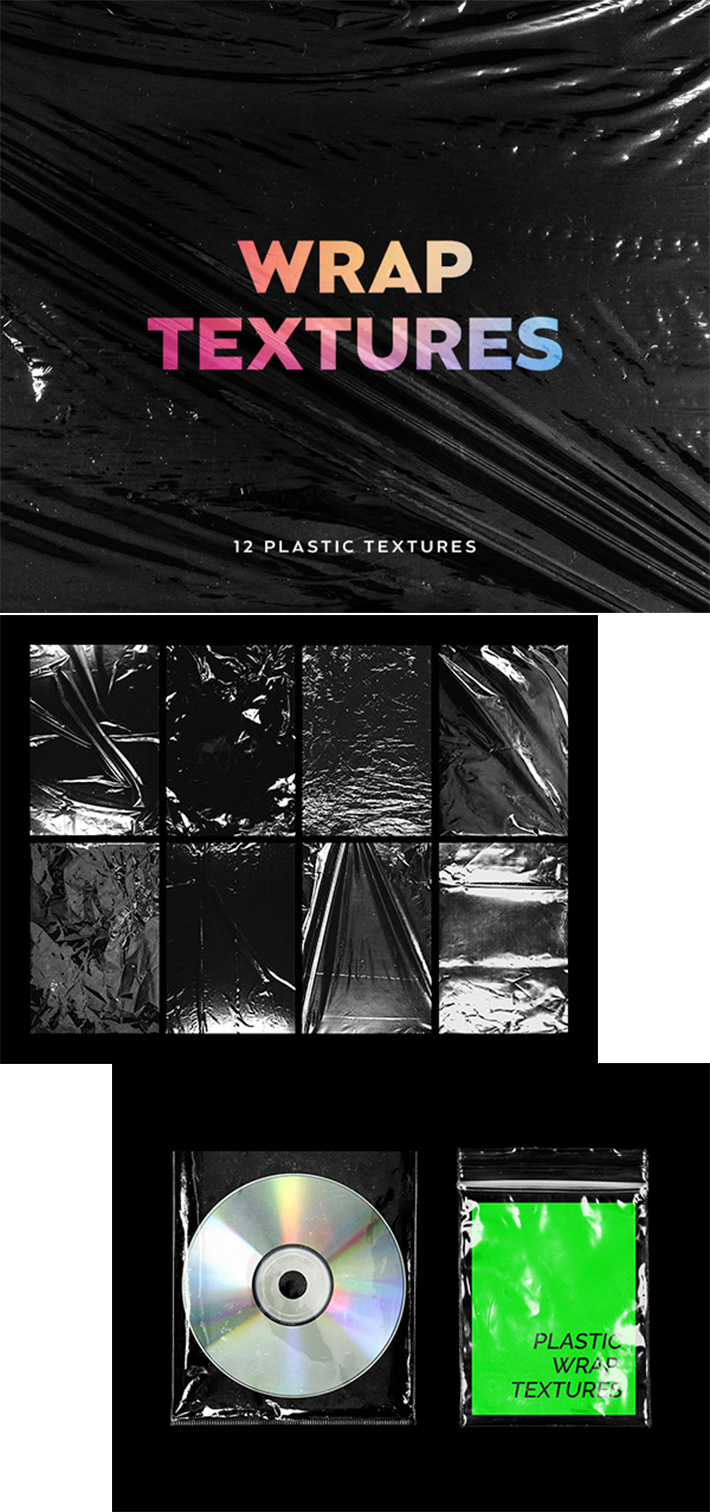 Awesome Plastic Wrap Textures