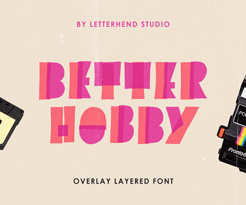 Free Awesome Stylish Bette Hobby Display Font
