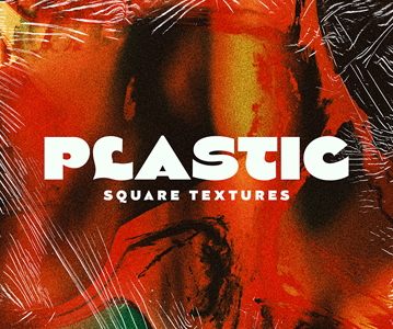 5 Creative Plastic Textures For Designers ; Freebie