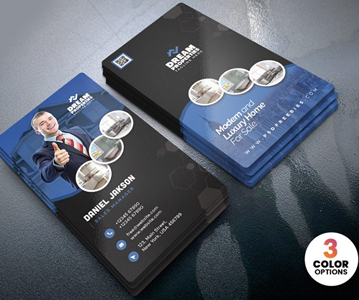 Free Download Elegant Attractive Real Estate Business Card Template