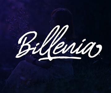 Freebie : Stylish Billenia Script Font
