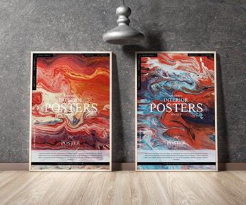 Free Download Eye – Catching Stylish Posters PSD Mockup (2020)