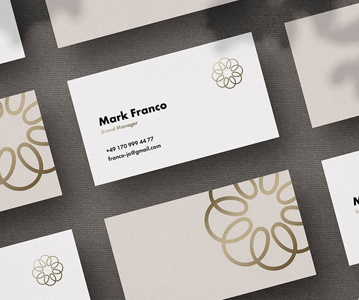 Free Download Simple Creative Business Card Mockup (PSD)