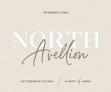 Free Download Awesome North Avellion Script Font For Designers