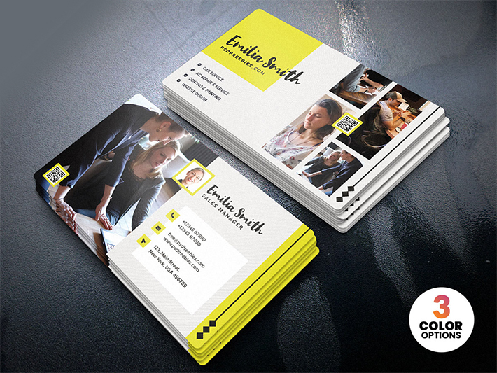 Freelancer Business Card Template