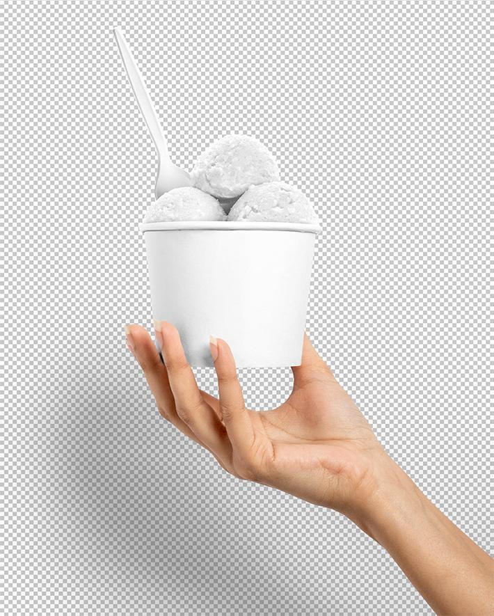 Summer Ice Cream Cup