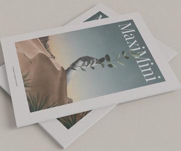 Free Creative Magazine Mockup