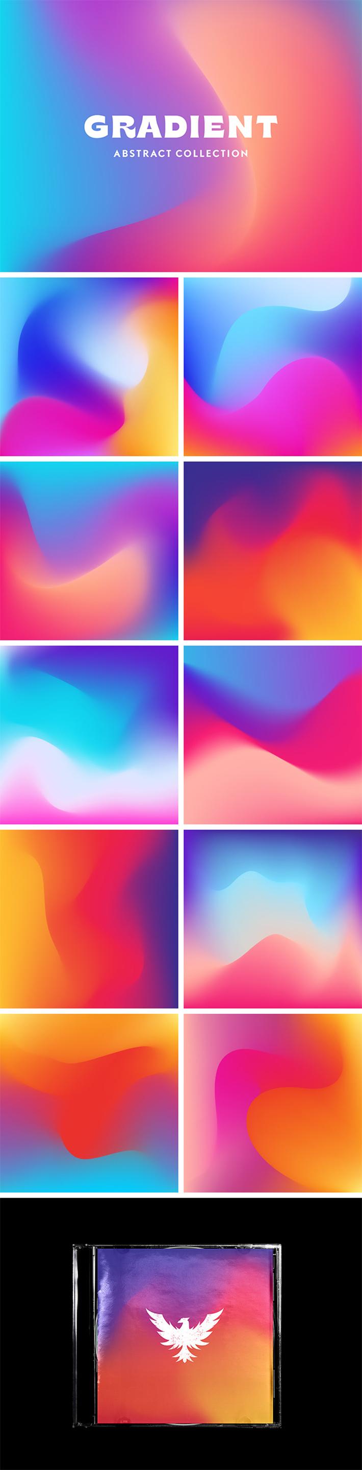 Gradient Texture Collection