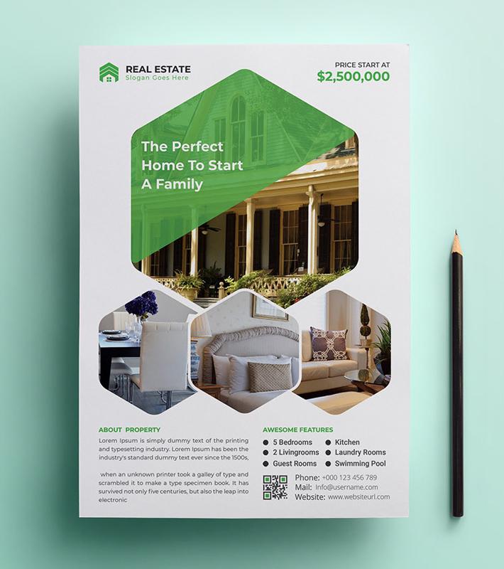 Real Estate Business flyer
