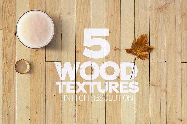 Stunning Wood Textures Mockup