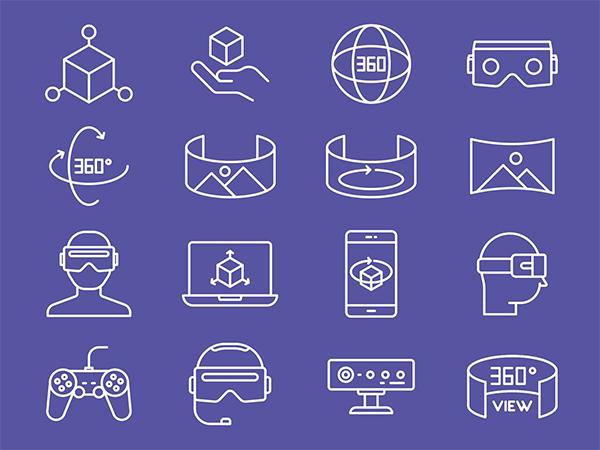 Virtual Line Icons