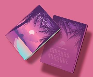 Free 5 Book Cover Mockup Scenes