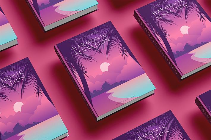 Book Cover Mockup Scene