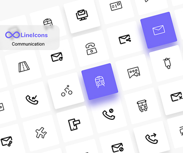 Free Creative Network Line Icons