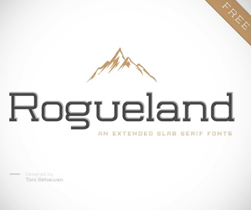 Free Awesome Rogueland Slab Serif Font