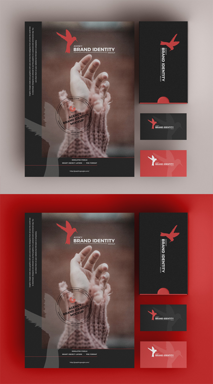 Simple Attractive Branding Stationery