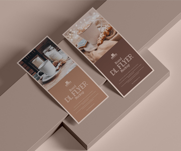 Free Creative Attractive Brand Flyer Mockup (PSD)