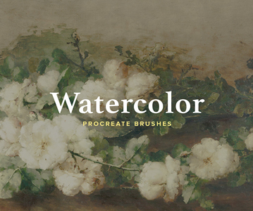 13 Outstanding Watercolor Procreate Brushes Free Download