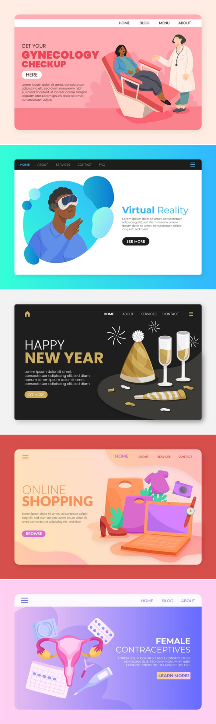 Perfect Multi-Purpose Landing Pages