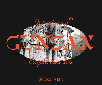 Free Attractive Gunsun Display Font For Designers