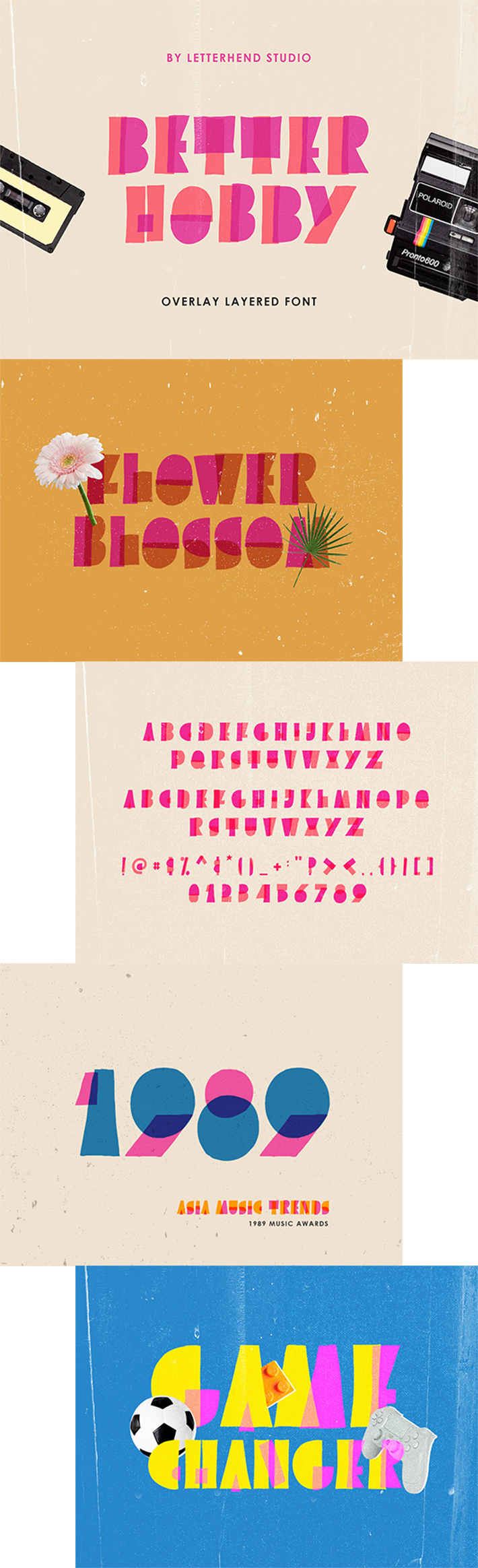 Awesome Stylish Bette Hobby Display Font