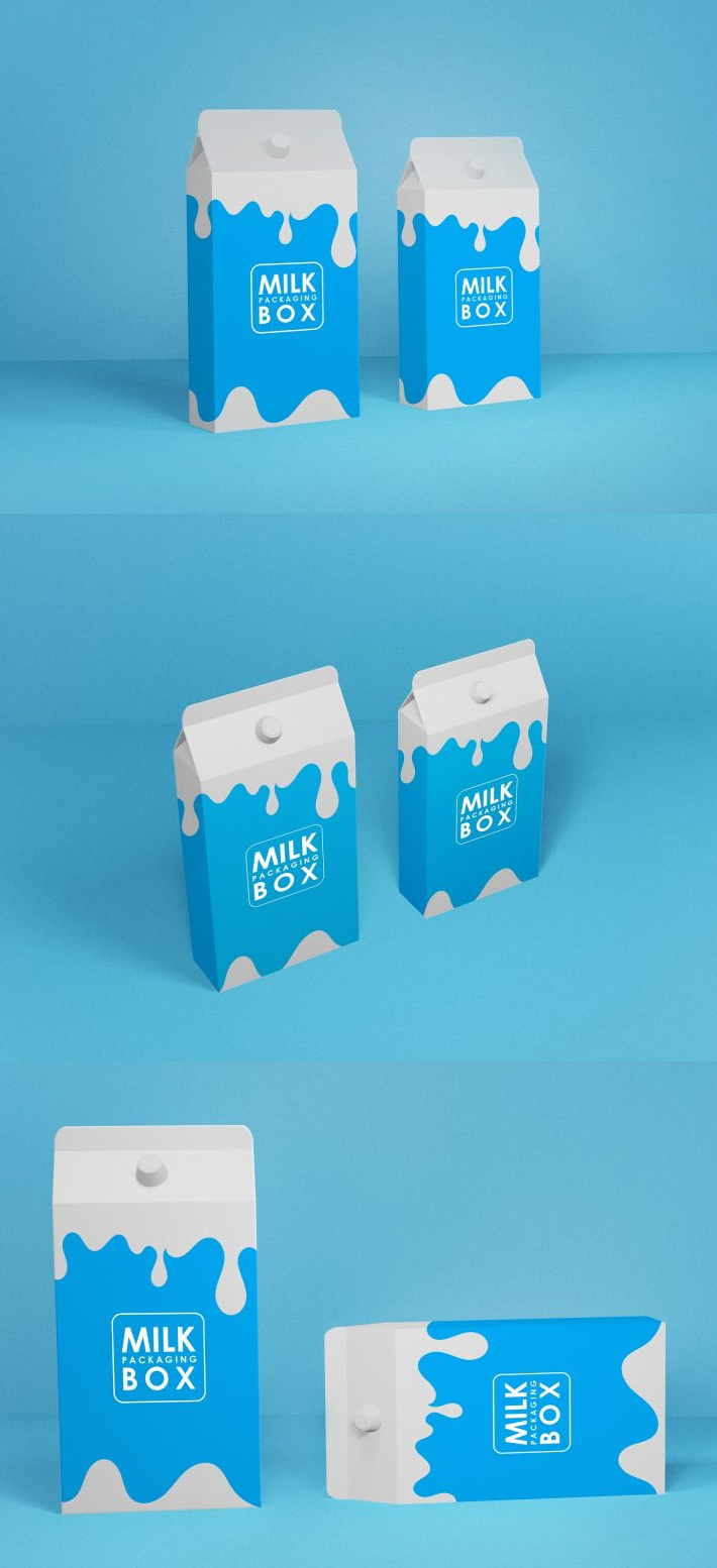 Awesome Milk Packing Box